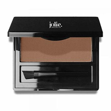 Jolie Brush on Brow Pressed Eye Brow Powder (Ash)