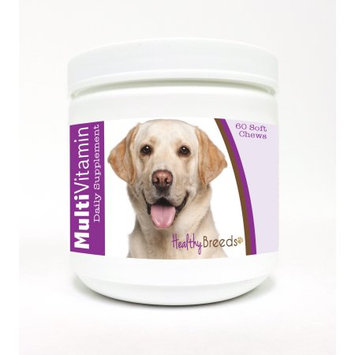 Healthy Breeds 1127-labs-004 60 Count Labrador Retriever Multi-Vitamin Soft Chews, One Size