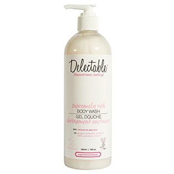 Delectable Supremely Rich Coconut & Cream Body Wash, 460 ml