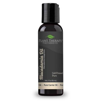 Plant Therapy Macadamia Nut Cold-Presses Pure Carrier Oil