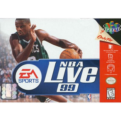 Electronic Arts NBA LIVE 99 -NINTENDO 64