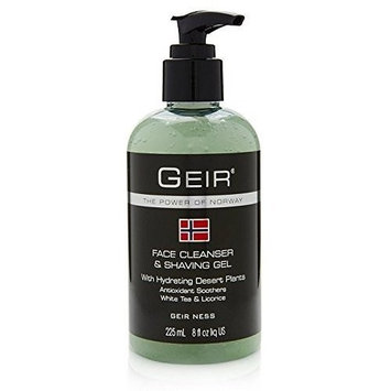Geir Ness Face Cleanser & Shave Gel for Men