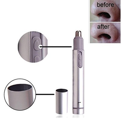 Jinjiu Ear Nose and Facial Hair Trimmer Shaver Battery-Operated Trimmer for Home Use