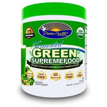 Divine Health Fermented Green Supremefood 480 Gram 60 Days