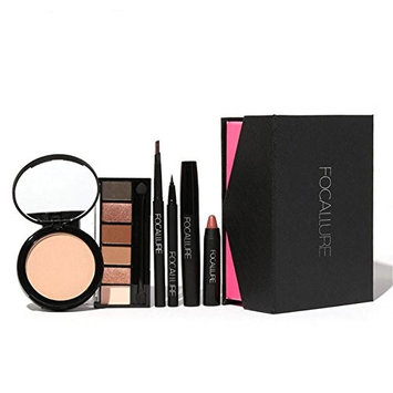 All In One Makeup Kit, Mixed Cosmetic Gift Case Eyeshadow Eyeliner Mascara Lipstick Make up Set