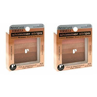 Physicians Formula Shimmer Strips, Waikiki Strip/Peachy Glow Bronzer, 0.3-Ounces (Pack of 2)