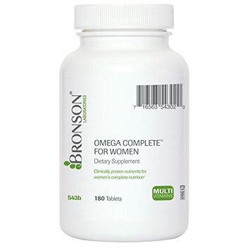 Bronson Vitamins Omega Complete for Women