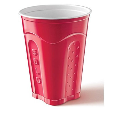 Solo Squared Cups, 18 Oz, Red, 60 Count