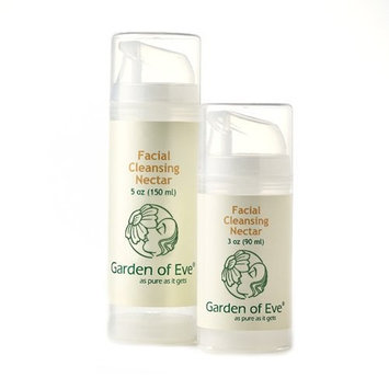 Garden of Eve Facial Cleansing Nectar - No Scent (Unscented, Fragrance-Free, Anti-aging/ Combination/ Dry/ Sensitive)(Certified Organic Ingredients) (No synthetic ingredients) 3 oz.