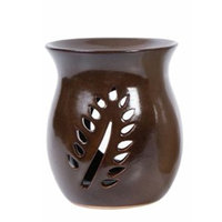 Hosley Brown Ceramic Oil/candle Warmer - 4.2' High