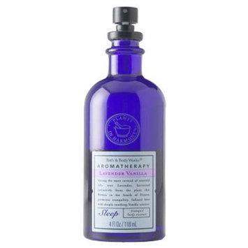 Bath & Body Works Aromatherapy Lavender Vanilla Sleep Tranquil Body Essence 4 fl oz (118 ml)