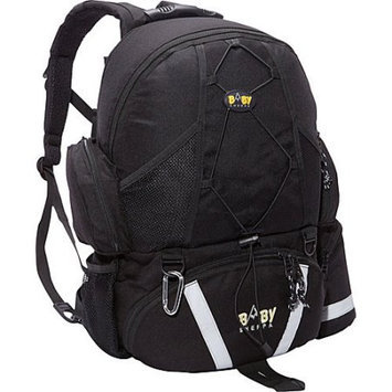 Baby Sherpa Diaper Backpack in Black