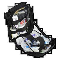 Lightning X MOLLE IFAK Gunshot and Bleeding First Aid Stocked Tactical Medic Kit - BLACK