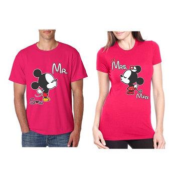Allntrends Couple T Shirt Mr Mrs Soul Mate