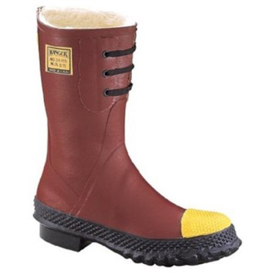 Ranger 617-6147-9 Shearling Insulated Steel Toe Poly Rubber