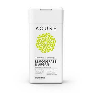Acure Lemongrass & Argan Curiously Clarifying Shampoo - 12 fl oz