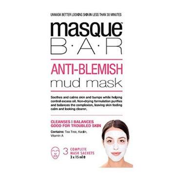 Look Beauty Products 00240M Masque Bar Anti-Blemish Mud Mask 3 masks