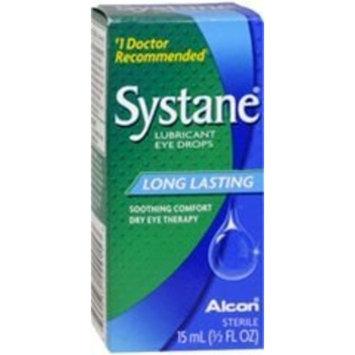 Systane Long Lasting Lubricant Eye Drops, 15-mL
