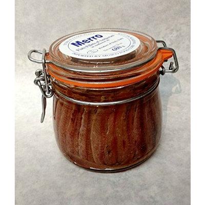 Merro Anchovies Large Mason Jar Sunflower Oil 24 Ounce