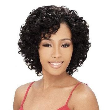 MilkyWay Que OPRAH 3PCS Human Hair MasterMix Weave Extension #1 Jet Black