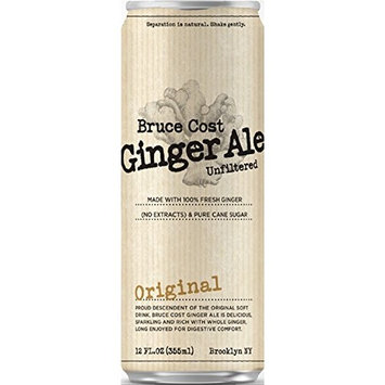 Bruce Cost Ginger Ale Original (24 pack, 12 oz can)