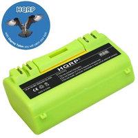 HQRP 3500mAh Extended Battery for iROBOT Scooba 330 / 350 / 380 Series Replacement plus HQRP Coaster