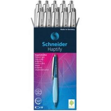 Stride STW135349 Schneider Haptify Retractable Ballpoint Pen White & Black