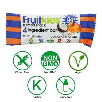 Keep Healthy, Inc Fruitkies Coconut Mango 4 Ingredient Fruit Snack Bar (Single Bar)