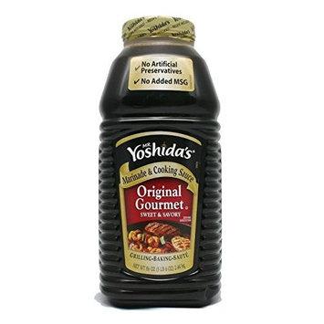 Mr. Yoshida's Original Gourmet Sauce 3 Pack (86 oz Each) Dskglq
