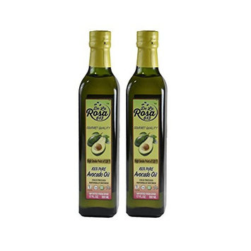 De La Rosa Real Foods & Vineyards - 100% Pure Avocado Oil - 500ml TWIN PACK