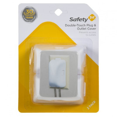 Safety 1st Double Touch Plug and Outlet Covers - 6 Pack