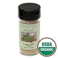 Starwest Botanicals Organic Cumin Seed Powder Jar