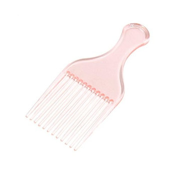 uxcell Women Barber Home Salon Plastic Wet Dry Hair Massaging Styling Hairdressing Brush Comb Pink