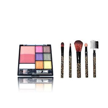 Eyeshadow & Blush with set of brushes
