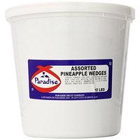Paradise Pineapple Wedges, Asst Colors, 10 Pound Tub