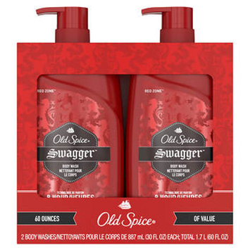 Spice Red Zone Swagger Body Wash for Men, 2 pk./30 oz.