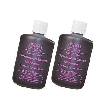 Ardell Lashtite Eyelash Adhesive Glue-Dark For Individual Lashes USA - Size 0.75 fl oz / 22ml (Pack 2)