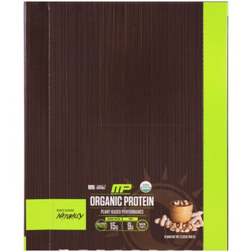 MusclePharm Natural, Organic Protein Bar, Peanut Butter, 12 Bars, 21.20 oz(pack of 2)