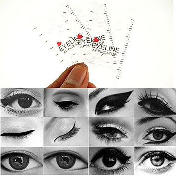 Eyeliner Stencil,3PCS Eyeshadow Guide Brushes and Shaping Eye Liner Stencil Eyeshadow Guide Brushes and Shaping Eye Liner Stencil