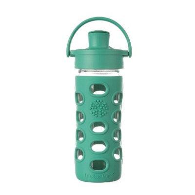 Lifefactory® 12oz Glass Active Flip Cap Water Bottle - Kale