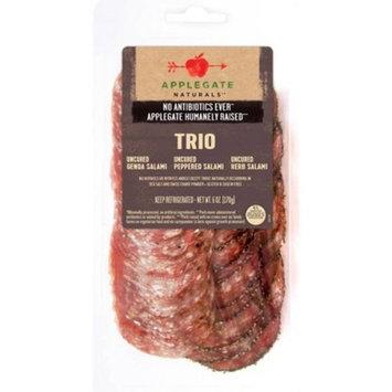 Applegate Natural Uncured Genoa Salami Trio - 6oz