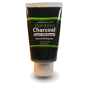 Ultra Concentrated Bamboo Activated Charcoal Toothpaste for All Natural Teeth Whitening