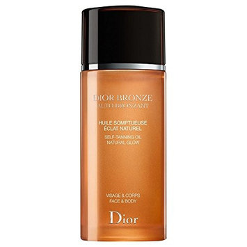 Dior Dior Bronze Self Tanning Oil Natural Glow - Face & Body 100ml - Pack of 6