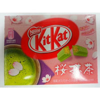 Japanese Kit Kat Green Tea Sakura Mini 12.3 G