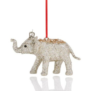 Plastic Glitter Elephant Ornament, Created for Macy's