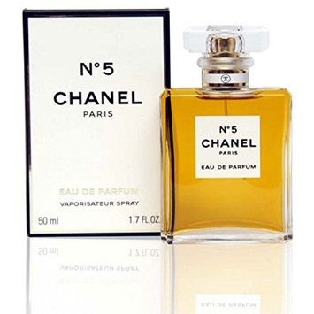 C h a n e l No. 5 Eau De Parfum 1.7 fl oz 50 ml Womens Perfume Spray Factory Seal