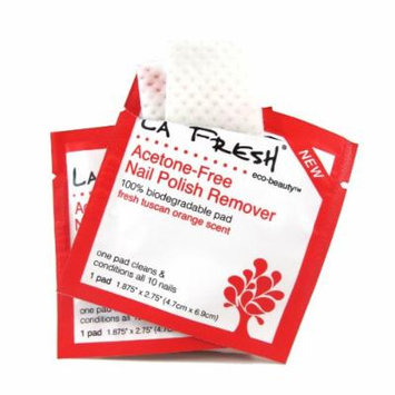 La Fresh Eco Beauty Nail Polish Remover Pads, 200 Count