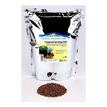 Organic Brown Flax Seeds - 2.5 Lb Resealable Bag - Canadian Flaxseeds - Flax Seed for Sprouting, Grinding, Omega Oils, Baking