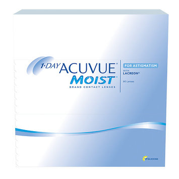 1-Day Acuvue Moist For Astigmatism 90 Pk Contact Lens