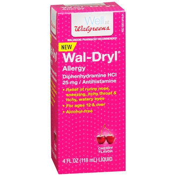 Walgreens Wal-Dryl Allergy, Liquid Cherry
